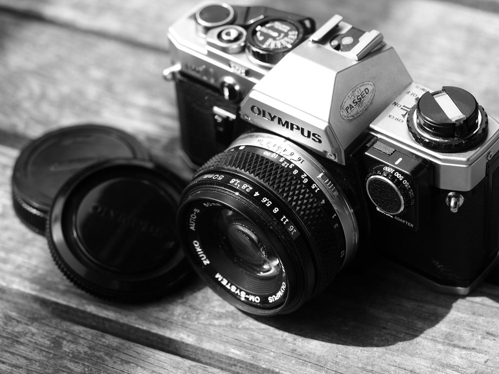 Olympus OM10 with Olympus Manual Adapter and Olympus Zuiko Auto-S 50mm 1:1.8.