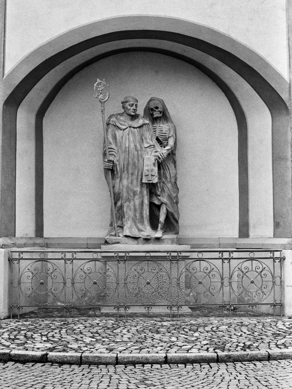 In Bad Säckingen. Fridolin of Bad Säckingen and Urso
