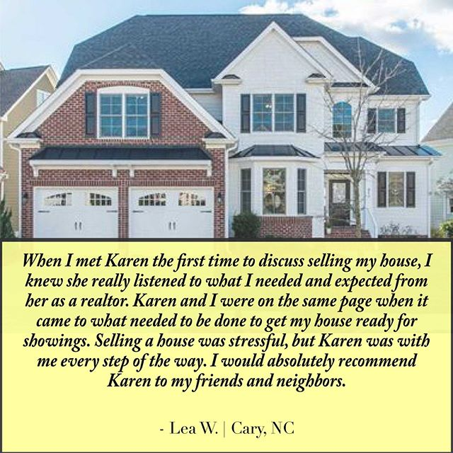 We understand how stressful it can be to sell your home.  This is why we work hard to always remain on the same page with our clients and ease the process of selling your home. Give us a call if you are considering a move in the near future, you'll be glad you did!  #RealEstate