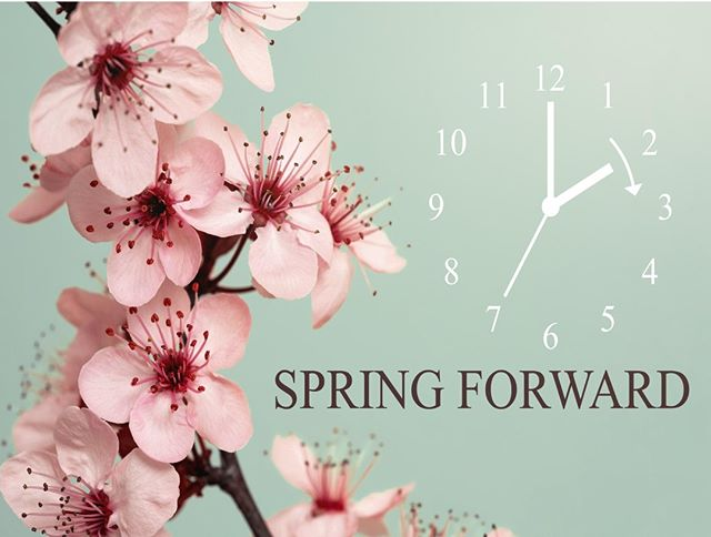 Remember to spring forward tonight & set your clocks ahead one hour!  It's also a good reminder to change the batteries in your smoke alarms every spring and check your air filters throughout your home.  #DaylightSavings #TheMovingExperience #SpringForward