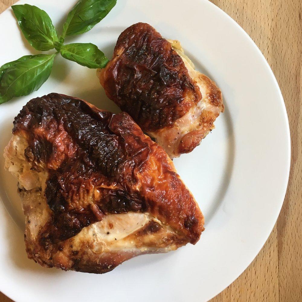 Umami-Bomb Roasted Chicken -