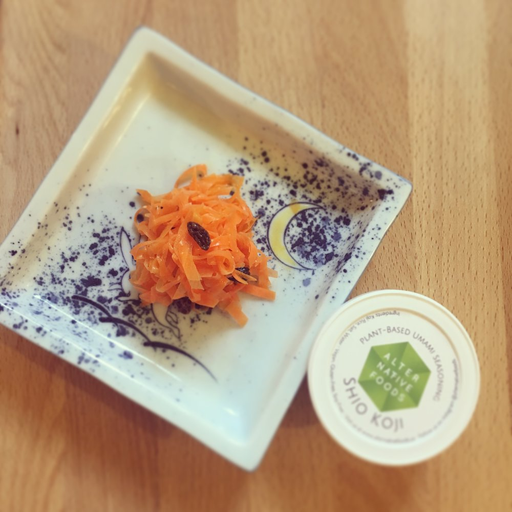 Grated Carrot Salad -