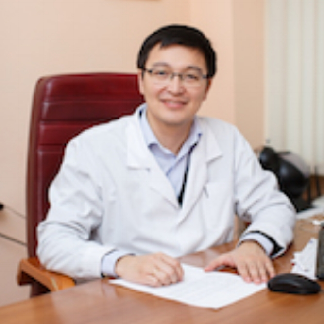 Dauran G. Adilbay, MD, PHD   Deputy Director, Kazakh Institute of Oncology and Radiology