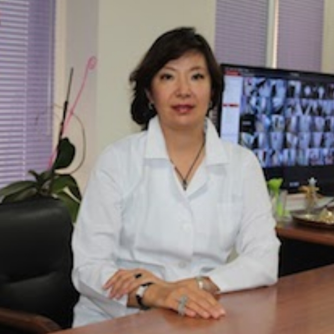 Dilyara Kaidarova, MD, PHD   Director, Kazakh Institute of Oncology and Radiology