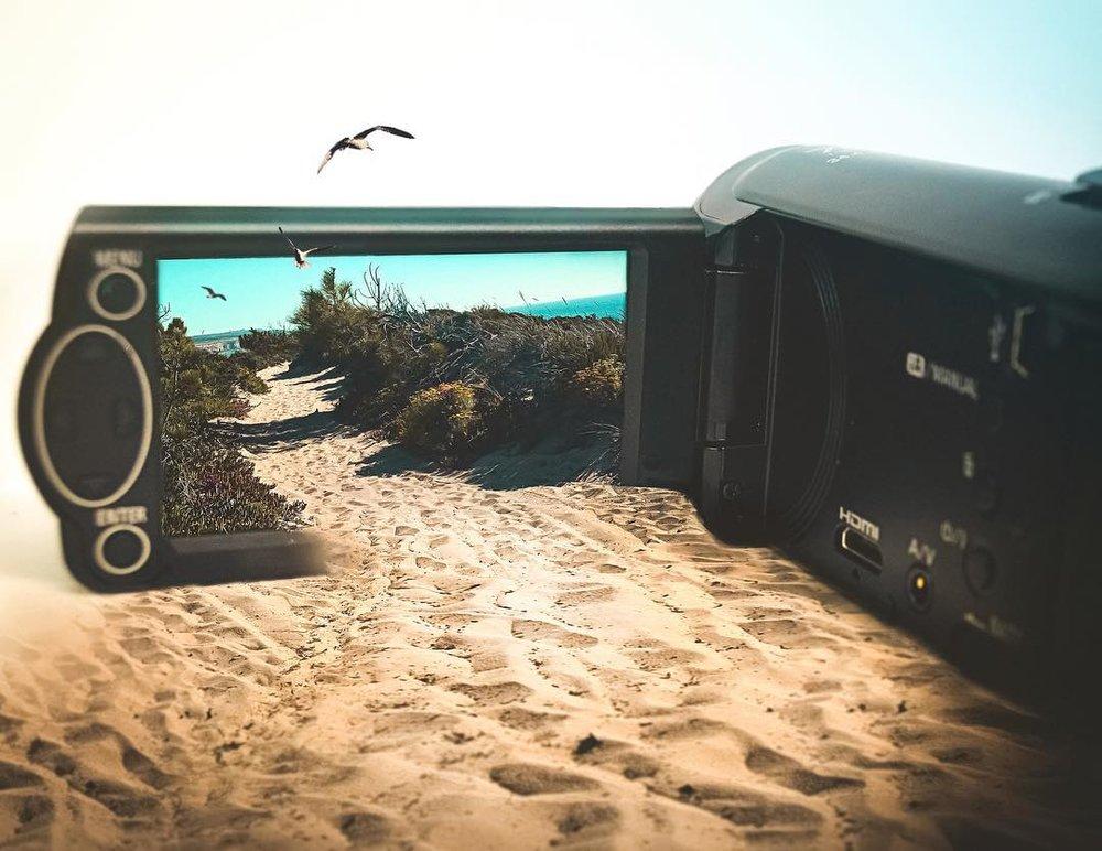 Through the lens...