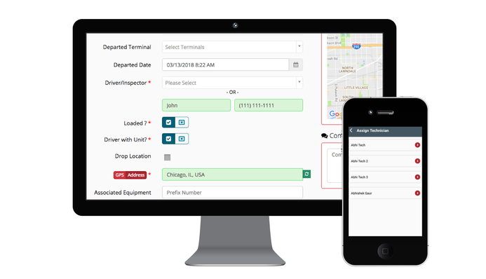 REACH commercial vehicle inspection app