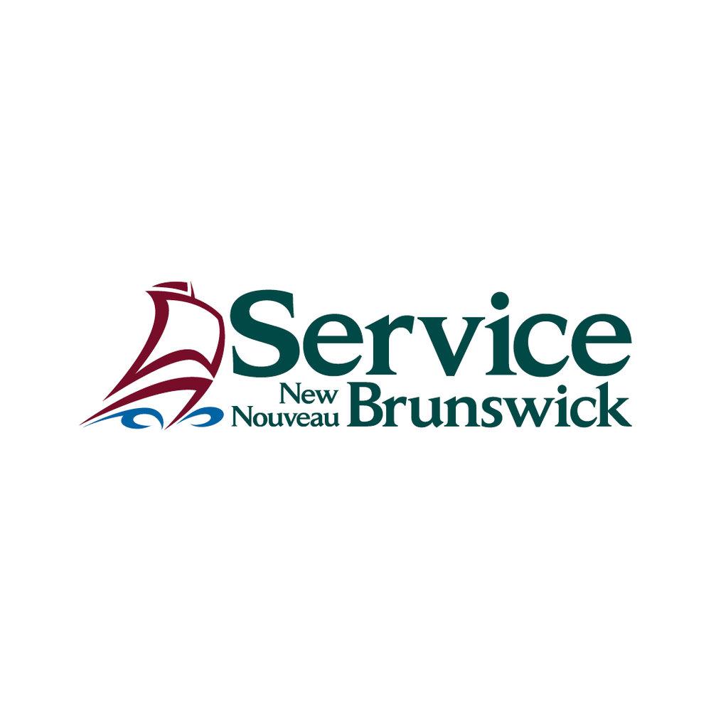 Service New Brunswick Logo