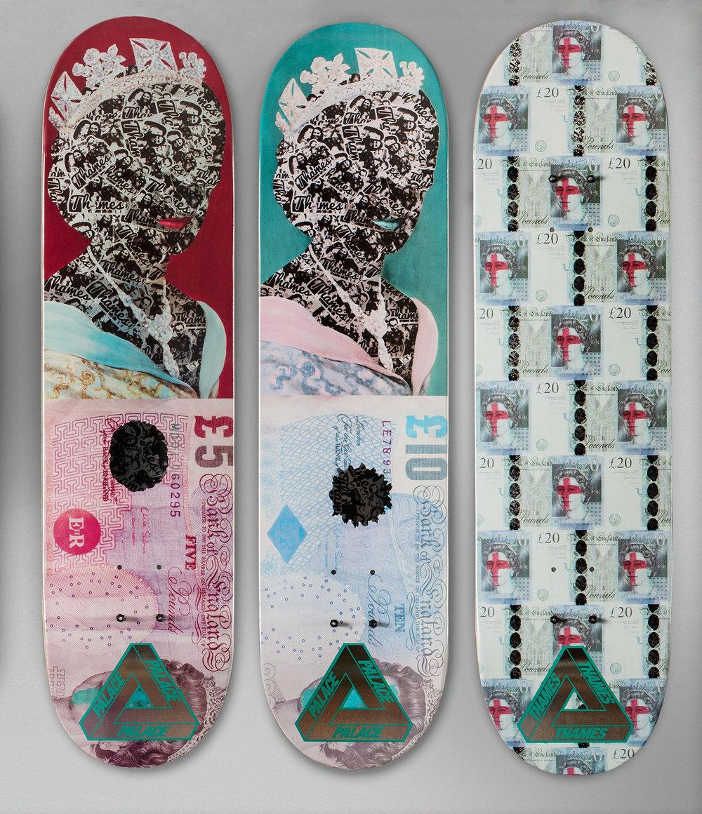 Thames x Palace Skateboards, January 2016