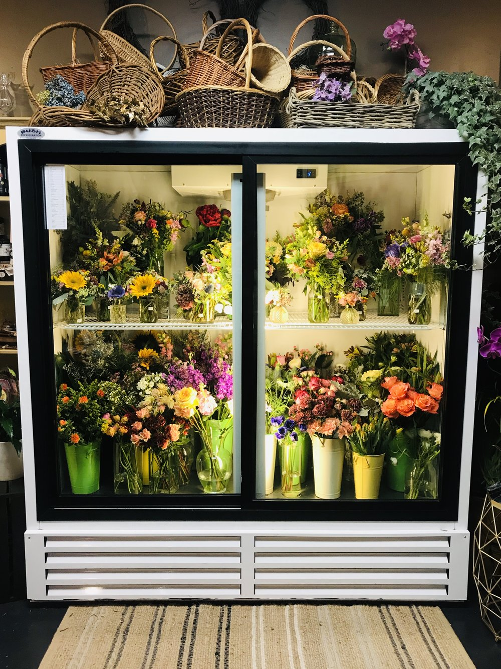 A full flower fridge!