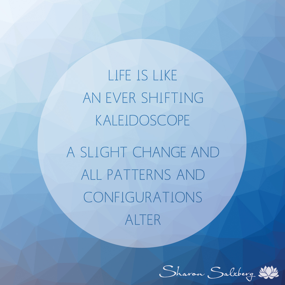 @SharonSalzberg #RealHappinessChallenge Day 20: Meditation on Changing Emotions