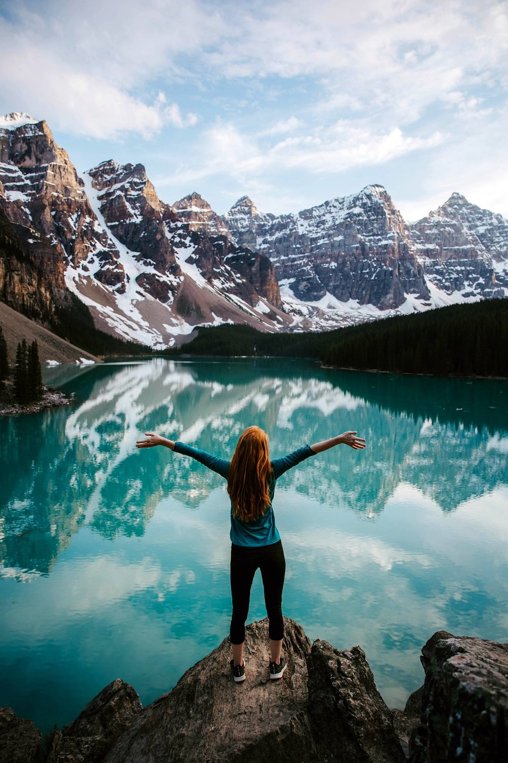 Moraine Lake Canada Banff Adventure Shelby Robinson