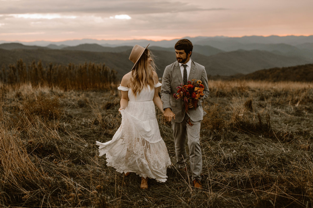north carolina max patch elopement photographer photography