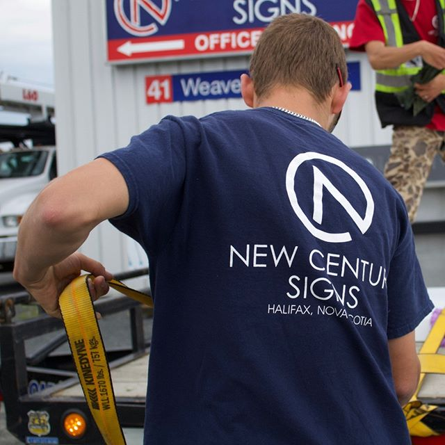 Signage. #newcenturysigns #delivery #installation
