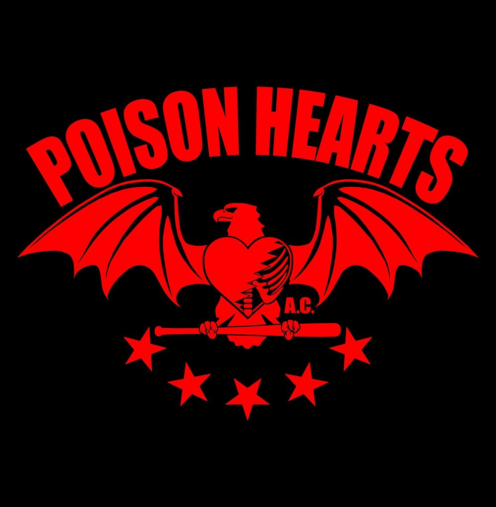 Poison hearts - action clubsan diego