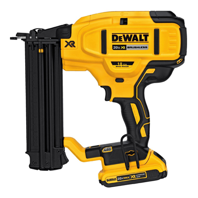 We used this  nail gun  for... everything. For a van build, use this to keep things in place and then use screws for reinforcement.