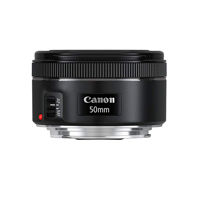 Our favorite portrait lens also happens to be super affordable! This  50mm 1.8  lens starts at about $130 and captures beautiful images!