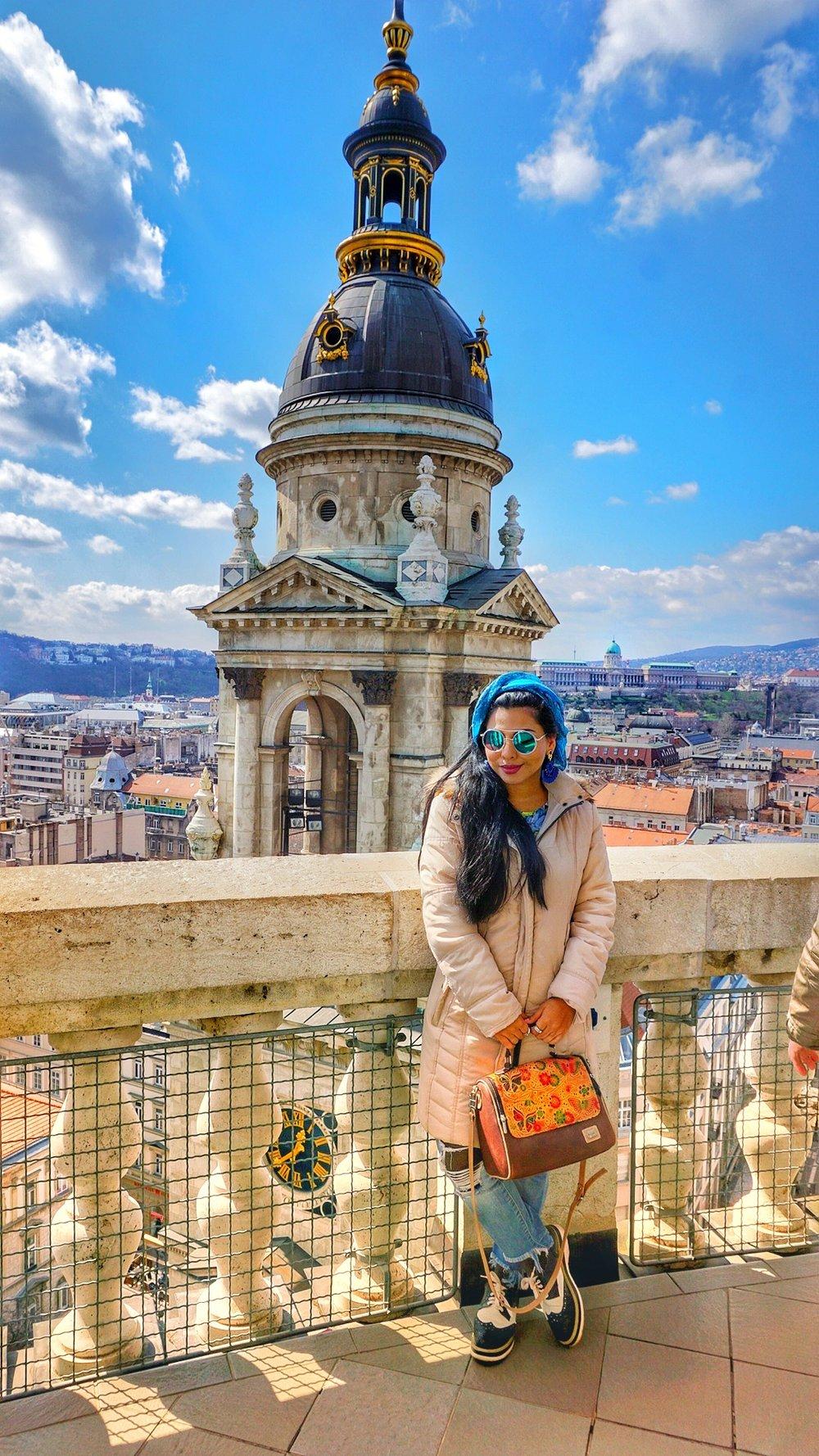 Inicio de la Primavera en Budapest, Hungría