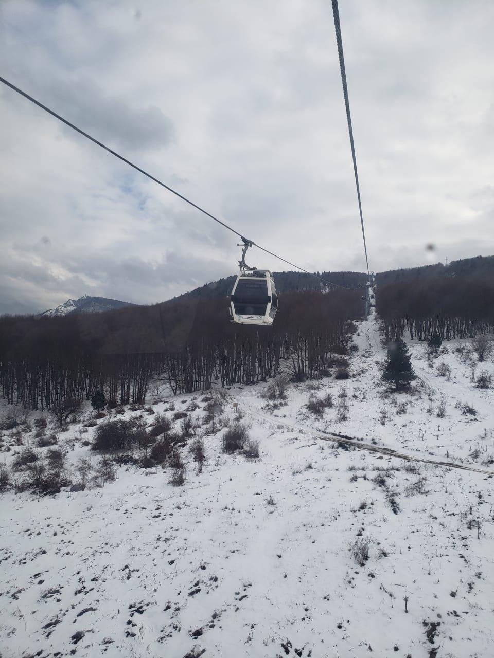 Nieve por todos lados