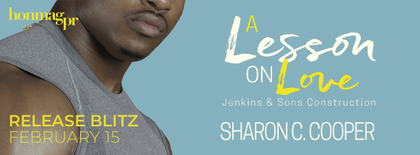 * RELEASE BLITZ * A LESSON ON LOVE by SHARON C. COOPER