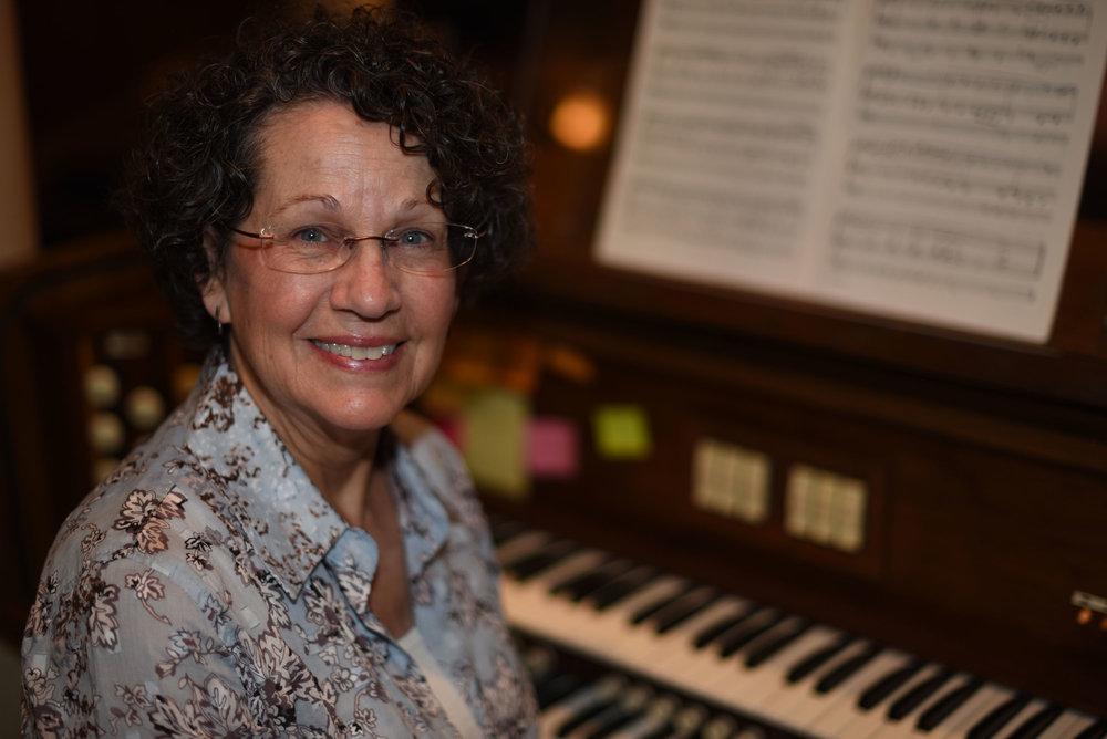 Sharon Austin   Organist
