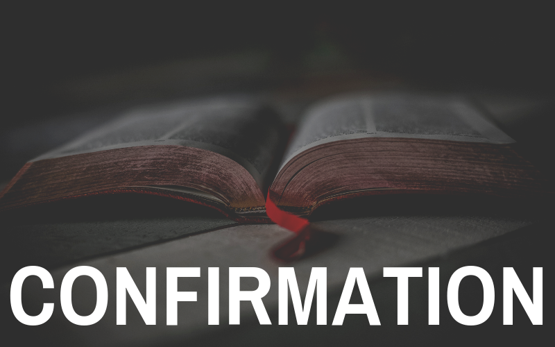The 2019 Confirmation Class will begins this Sunday, February 17th. Confirmation Sunday will be on April 14th. The class is for students 6th grade and up and is only for kids that haven't been confirmed yet. If you have any questions contact our Youth Director, Ridge Kennedy.