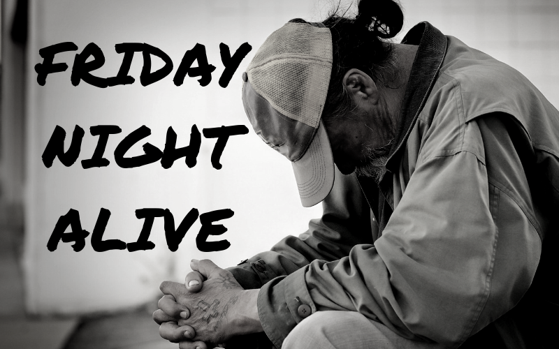 We are needing more volunteers for Friday Night Alive tonight! If you are interested in volunteering, you need to be at First Church no later than 5:30 pm. Don't miss out on helping with this rewarding ministry!