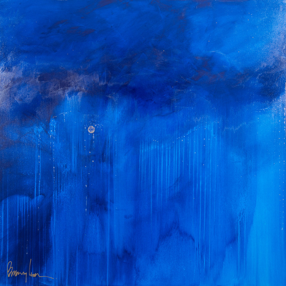 BarryLantz_AcrylicOnCanvas_Artwork_BlueRain