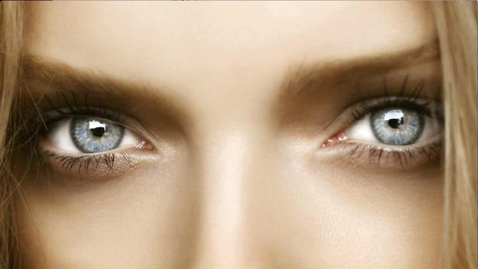 Гиф глаза девушки