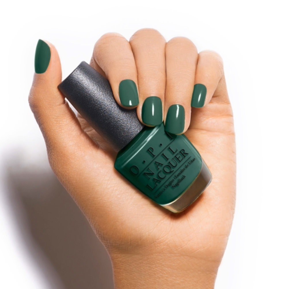 - As for nail color - I'm starting off with your classic greige but I'm dying over OPI's GelColor Stay Off The Lawn!!I honestly don't think this is a new shade but it's one I'll def be rocking next.