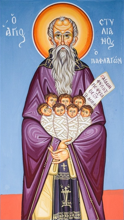 Saint Stylianos, Protector of the Unborn