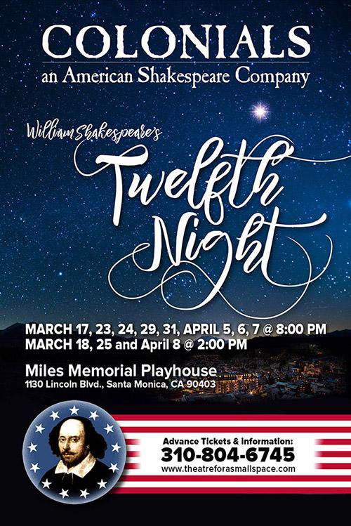 Twelfth Night — Spring 2018