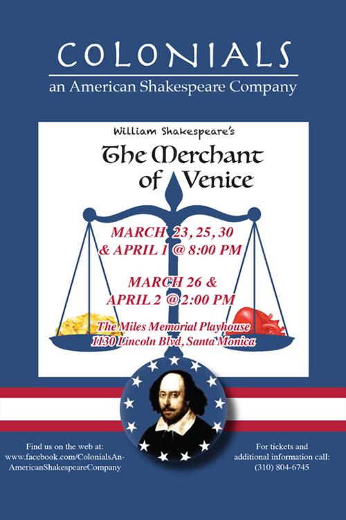 The Merchant of Venice — Spring 2017
