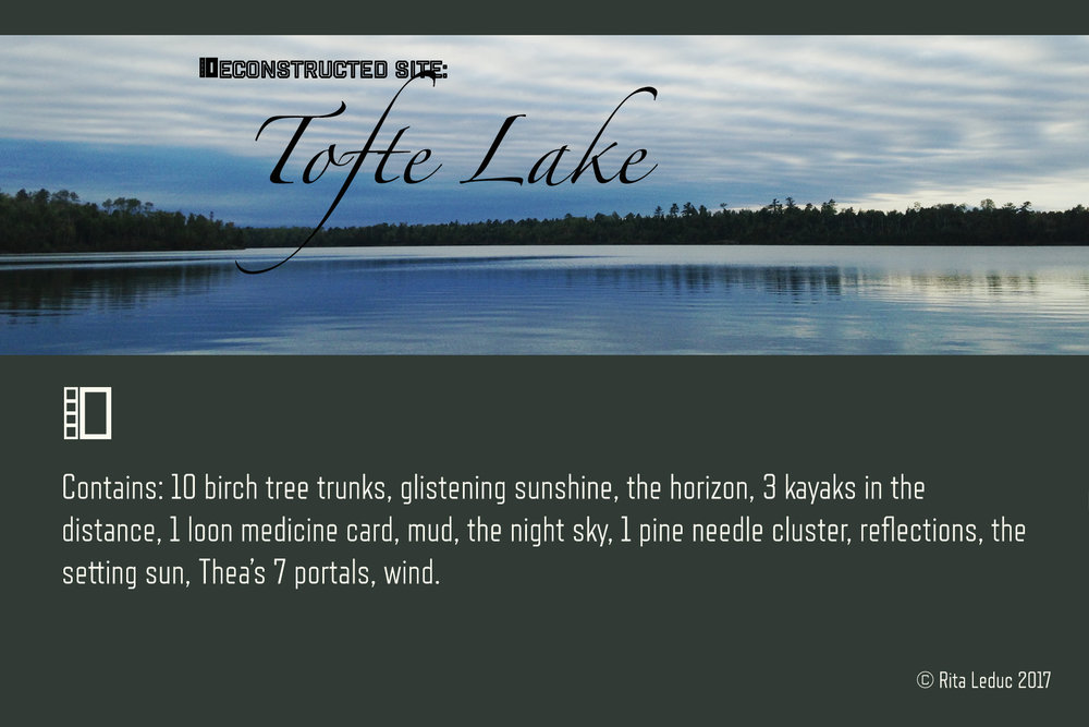Tofte Lake: Deconstructed Site