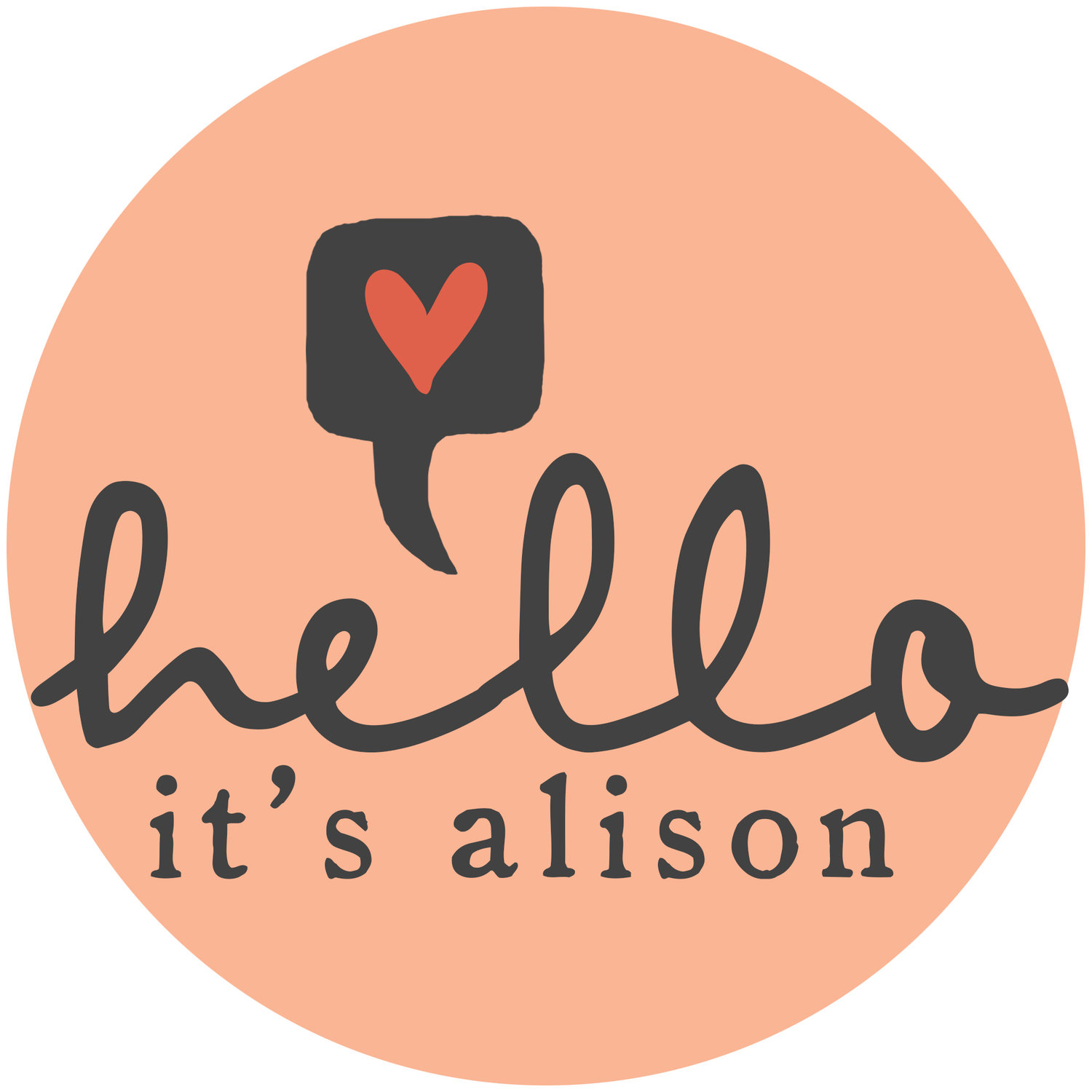Hello, it's Alison