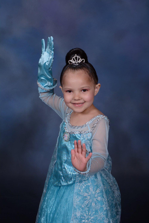 Meet Annick - A priceless princess makeover and dream come true.