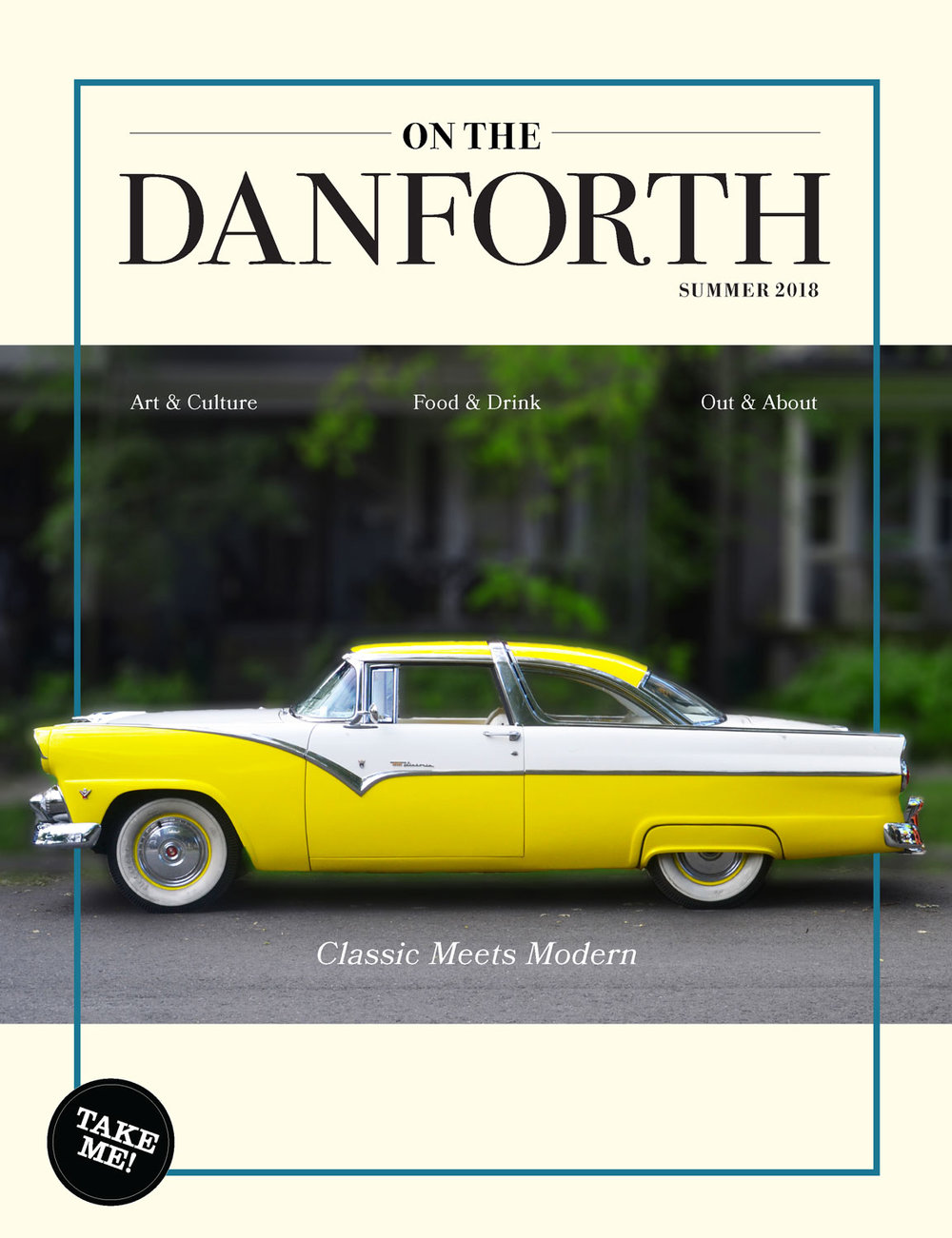 On the Danforth: Art Direction, Design, and Photography