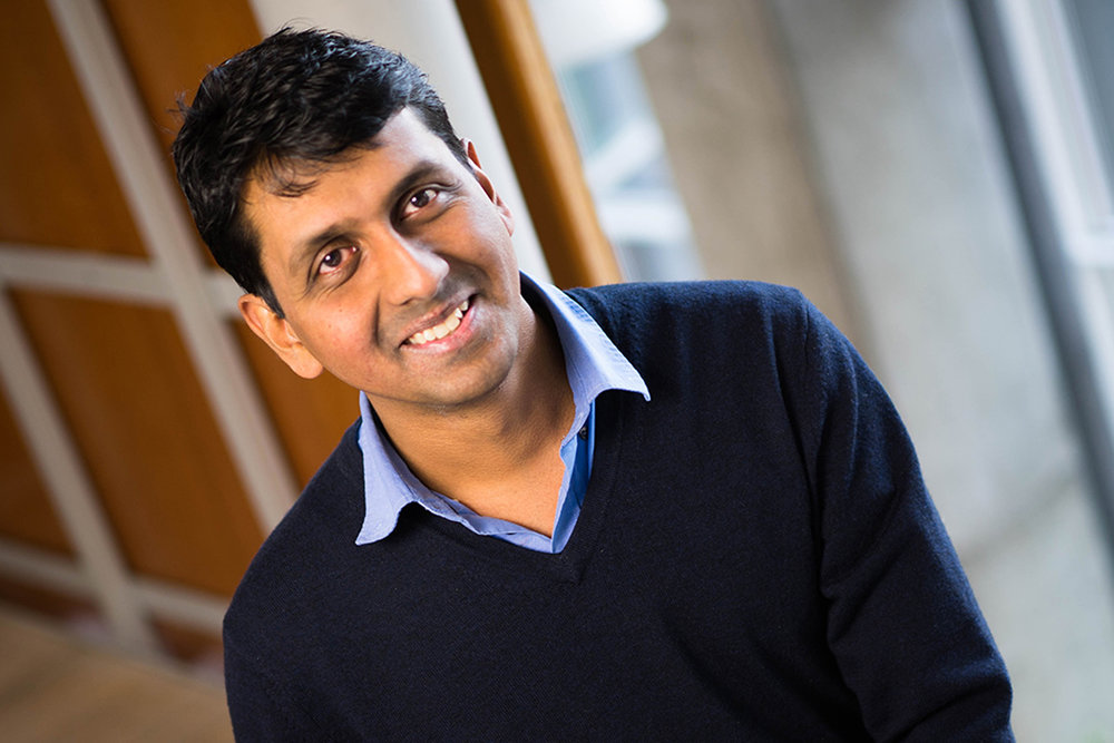"""""""Vinod is widely considered the best cryptographer of his generation,"""" one senior faculty colleague wrote in a nomination. """"His teaching record is stunning; it is very rare for a junior faculty member to be considered one of the best lecturers in our department.""""  Learn more at MIT News."""