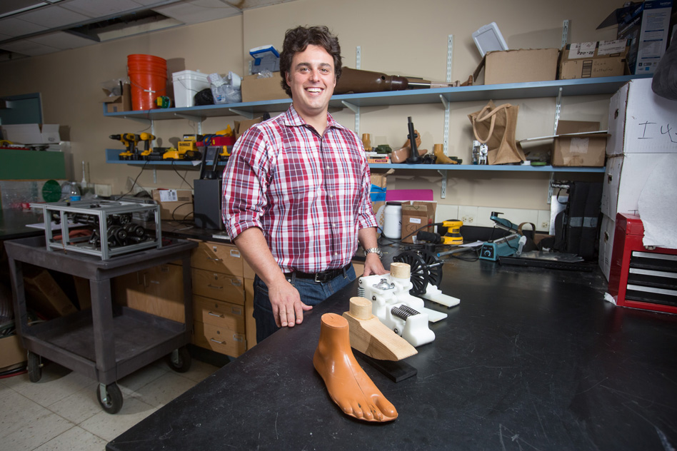 2016-2017 Harold E. Edgerton Faculty Achievement Award - Amos G. Winter, assistant professor in the Department of Mechanical Engineering and director of the Global Engineering and Research Lab (GEAR), has been awarded the 2016-2017 Harold E. Edgerton Faculty Achievement Award.Read more at MIT News
