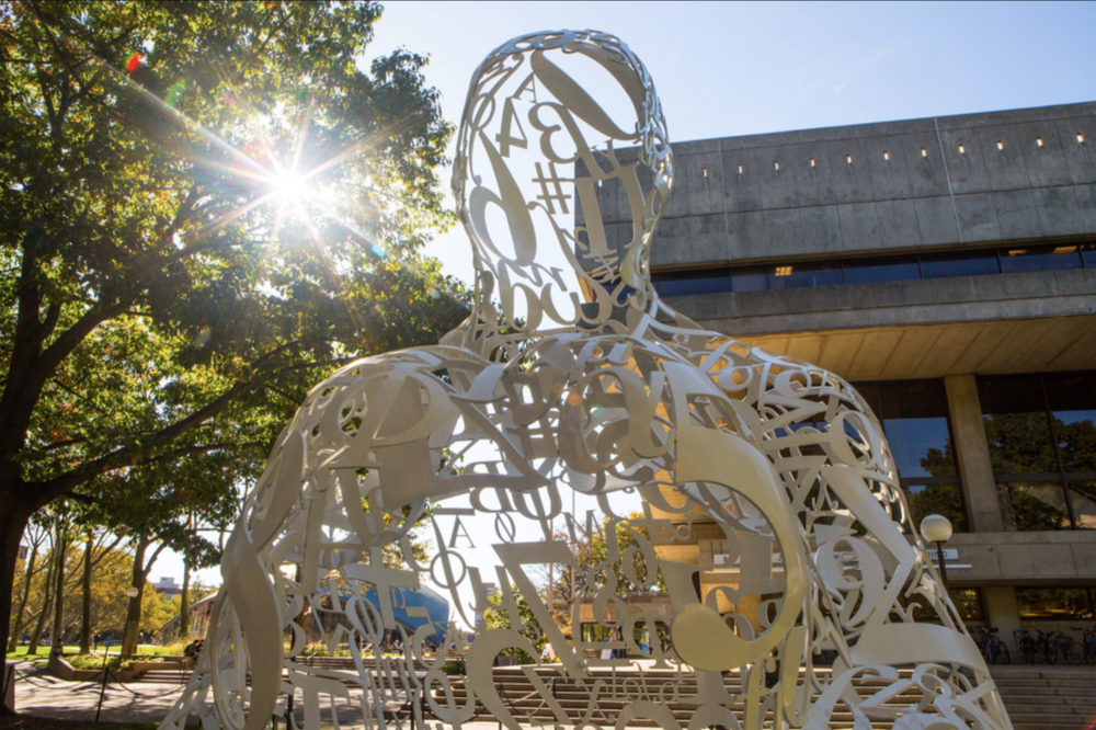 Jaume Plensa,  The Alchemist . Photo: Jake Belcher