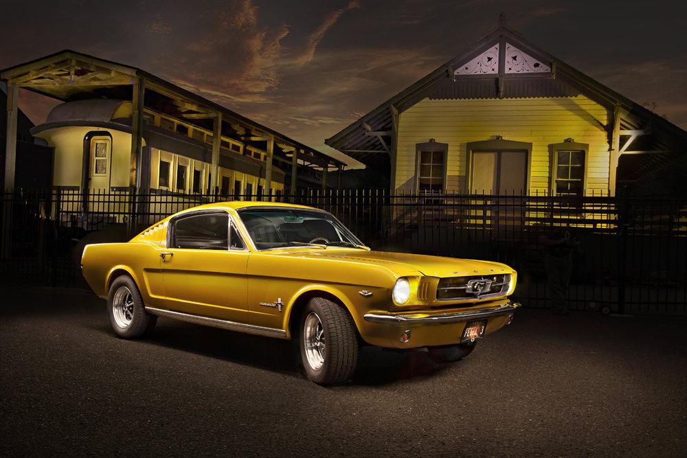 '65 Yellow Mustang Fastback.jpg
