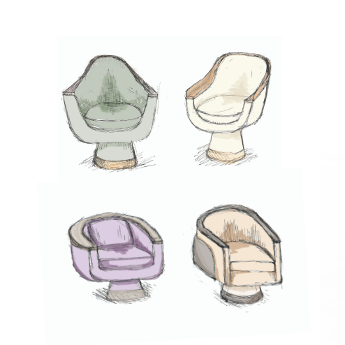 Revised drawings were done to finalize the basic shape