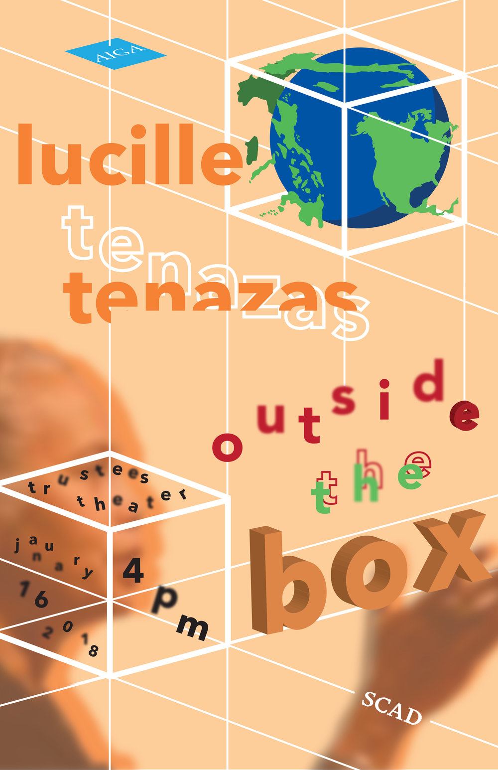 LUCILLE TENAZAS POSTER AND BOOKLET