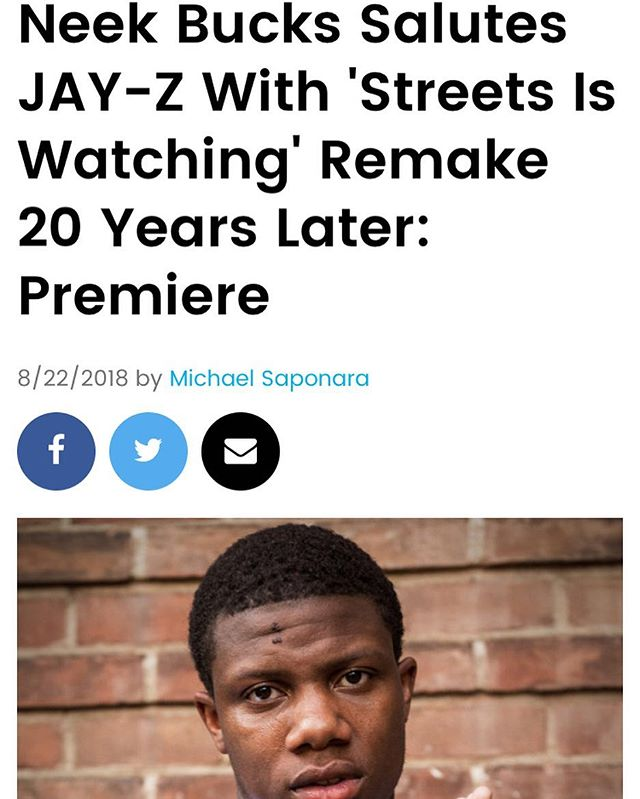 Ecstatic!!! I Wanna Thank Everyone Who Helped Put This Together Tone & Poke U Guys Are Amazing Real Life 🐐🐐's My Guy @gishova Getting me Back & Forth Coaching Me Thru! Love/Respect @sheanpr Thanks For Believing In Me Bro We Had So Much Fun Doing This Project & I Hope Everyone Enjoys 🙏🏾 Thanx @billboard @billboardhiphop We Appreciate You Guys #StreetsIsWatching2018 Is Out Now!! Link In My Bio
