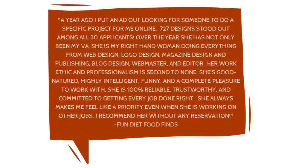 "_""Honestly, you will not be disappointed in any way, shape, or form to work with Denika. I was looking for someone to build a site fast and for a price that didn't destroy my small business account. Boy, was I lucky. copy 4.png"