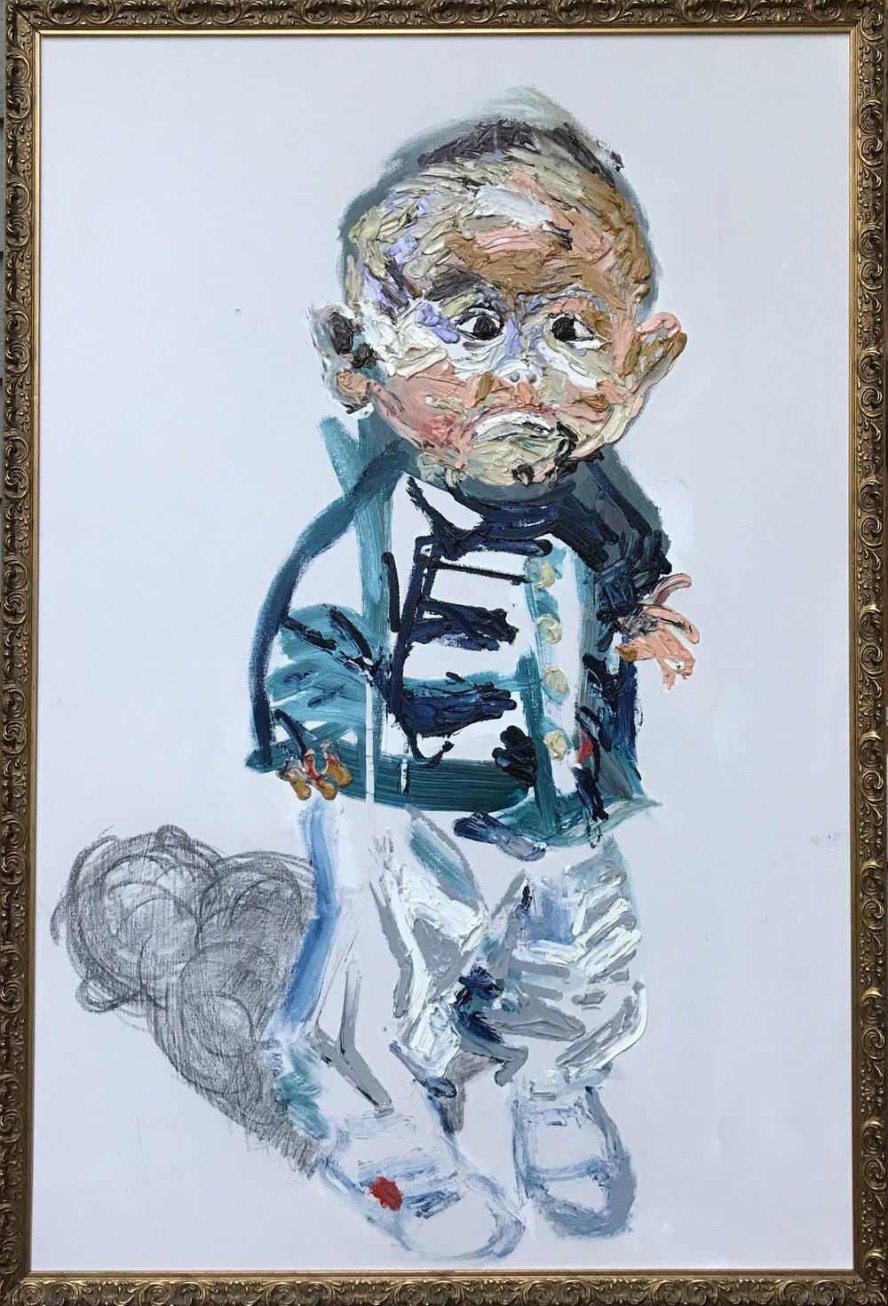 "Portrait of Woody - 24""x36"""