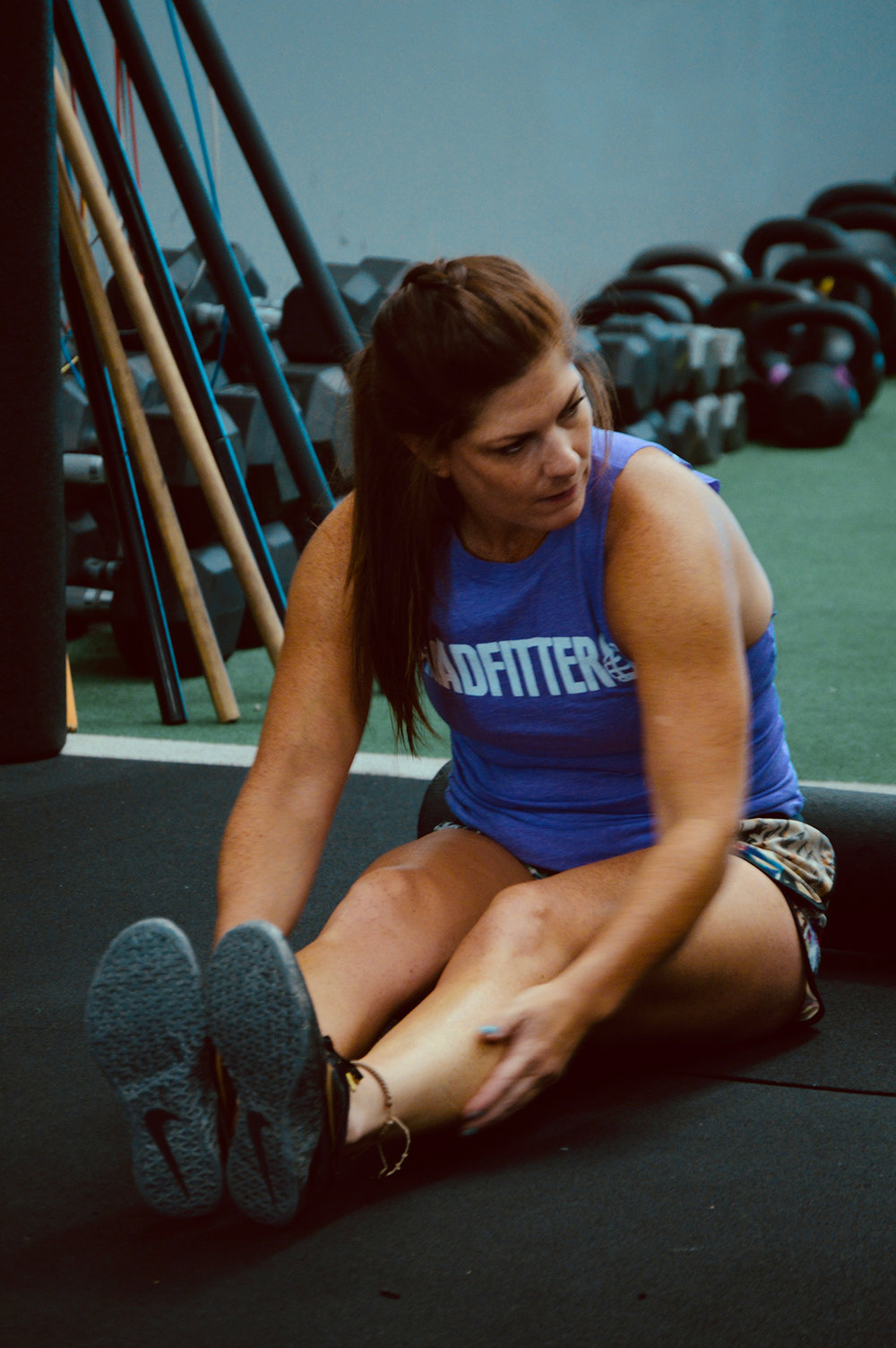 Cara Garcia - Crossfit, Endurance.   Cara has been training CrossFit since 2014. She currently holds her CrossFit level I.