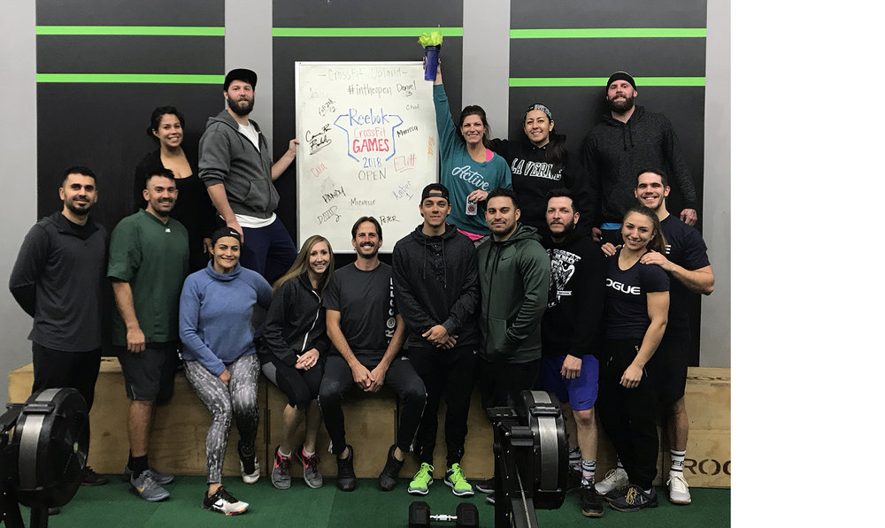 """Our Mission - In life, who we decide to spend our time with, has a tremendous effect on us. To quote Jim Rohn, """"You are the average of the five people you spend the most time with.""""At CrossFit Upland, our mission is to develop a supportive community that is driven to excel in life through dedication to physical fitness, hard work, and respect for ourselves and each other. Together, we use the grit and improvement we gain inside the gym to advance our lives and rise to the challenges we face outside the gym.Contact Us!"""