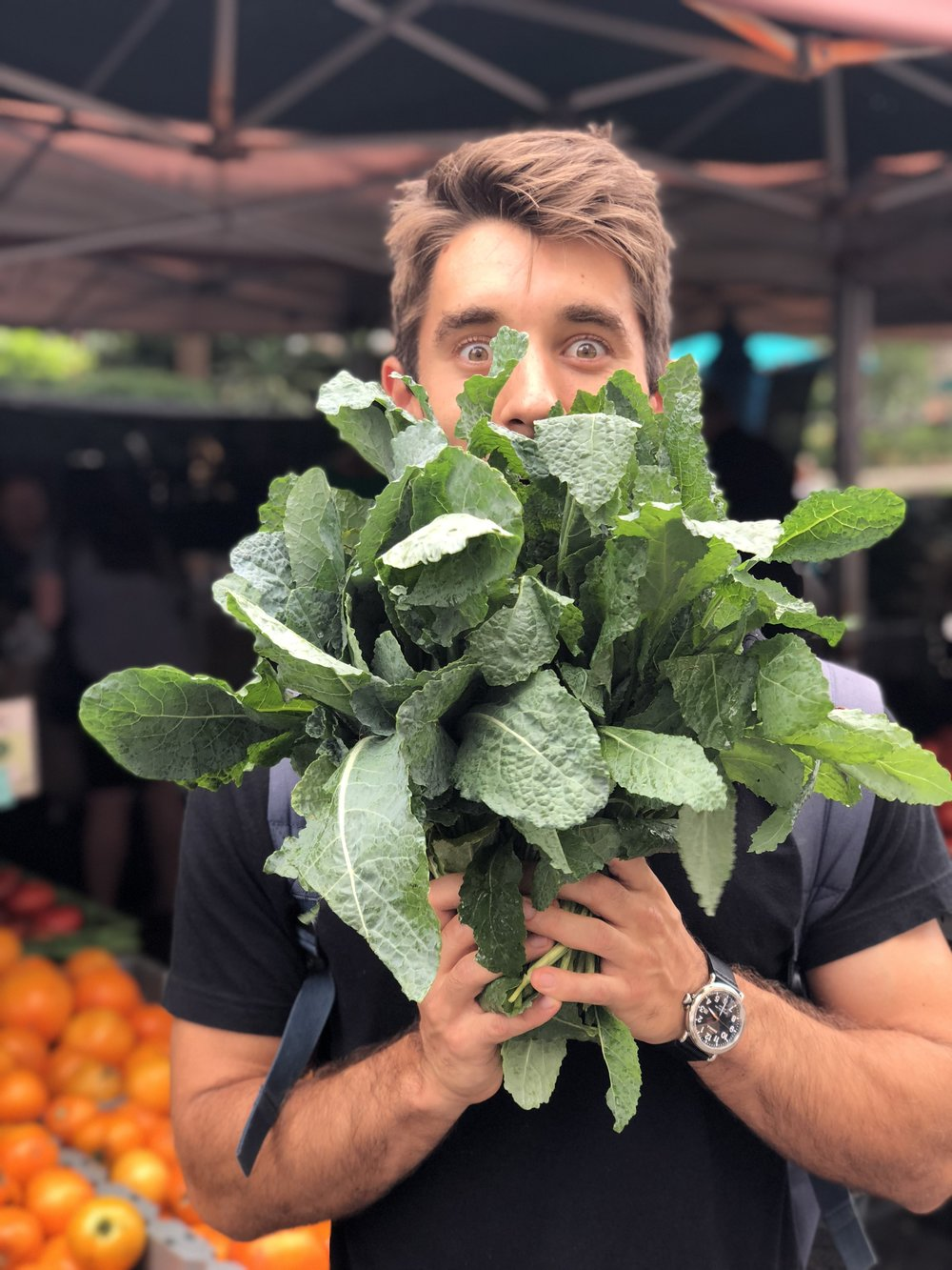 Coming soon… - more veggies please