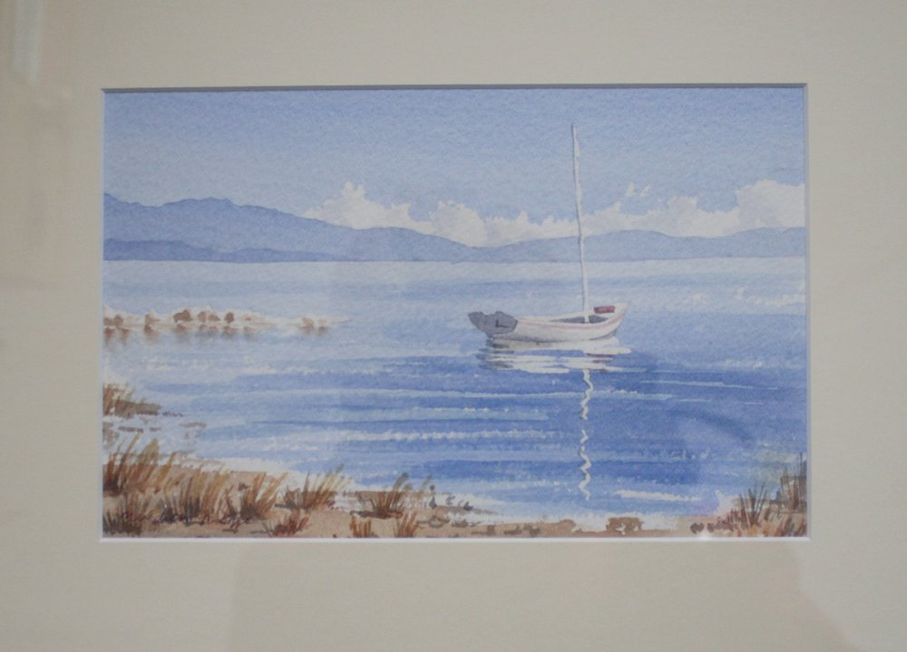 Haven View  (2001). Watercolour on paper 310mm x 260mm