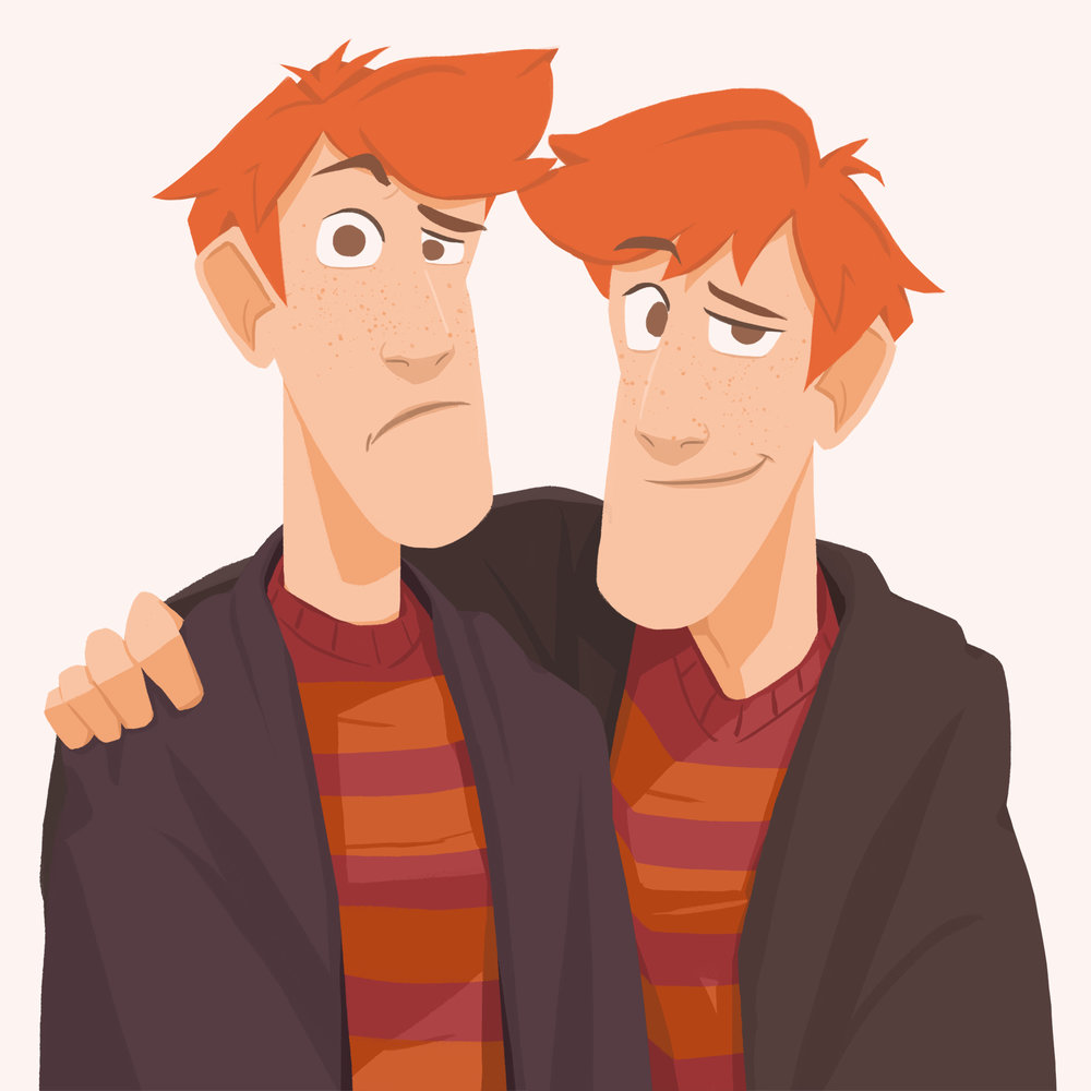 Fred and George Weasley